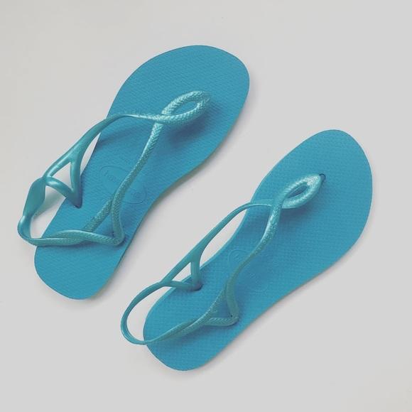1bc63a84f Havaianas Shoes   Luna Back Strap Sandal Flip Flop   Poshmark